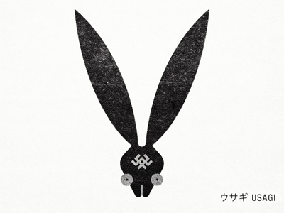 Usagi Clan usagi hare rabbit knots japanese japan marks kamon symbol gang animal ears