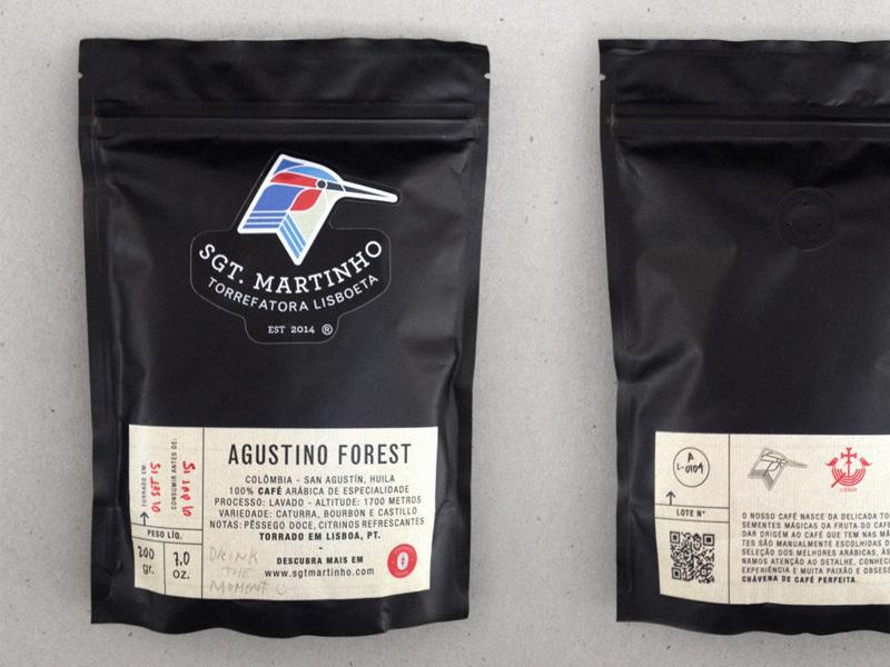 Sgt. Martinho Coffee Bags chemex v60 hario portuguese lisbon lisboa brand caffè specialty bags coffee sgt martinho