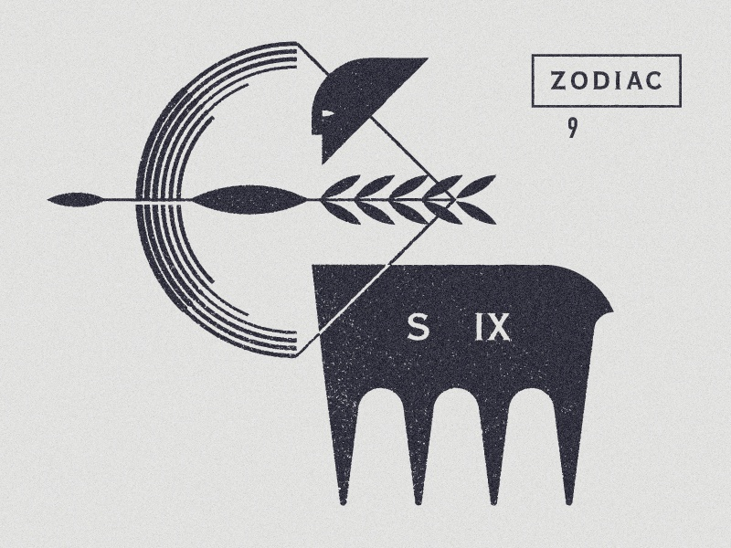 Sagittarius symbol marks man horse mythology arrow bow astrology zodiac sagittarius