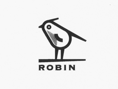 Always rejected. He needs a home. logo marks fly icon symbol mark marks robin logo bird