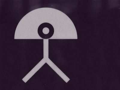 Indalo de Almería picto mark symbol sign sol man rainbow andalucia almeria indalo