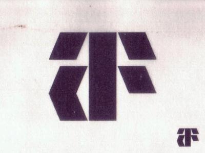 A+F monogram symbol monogram letters f a af cruz novillo modernist modernism