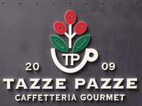 Tazze Pazze signage and more.