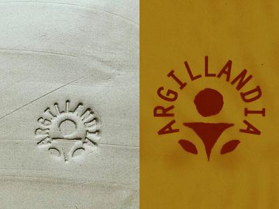 Argillandia symbolic symbol marks logo create source sciaman spirit spiritual element elemental earth argilla clay pottery