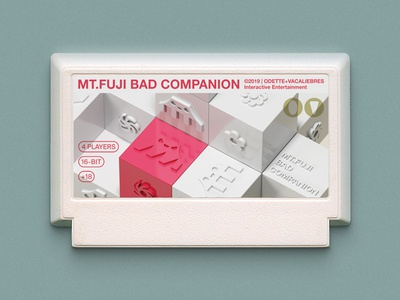 MT. FUJI BAD COMPANION