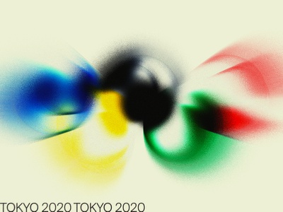 TOKYO 2020 colors shades gradients logo vacaliebres koichi sato kenya hara sport athletics 2020 tribute japan olympics olympic tokyo