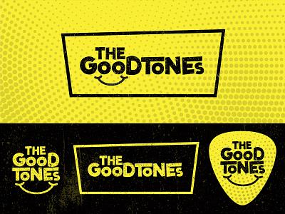 The GoodTones - Logo (Ska/Punk/Reggae/Rock) minimal typogaphy music branding logo