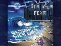 Stratus Fear - Beyond the City Lines - Album Art vector design beach music illustration