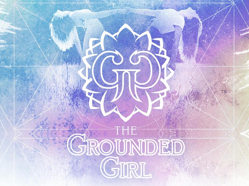 The Grounded Girl - Logo Design / Branding branding vector illustration design logo