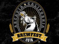 KROQ Brewfest Drunken Horse Tee Design