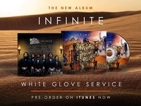 "Album Art & Mockup - ""Infinite"" White Glove Service"