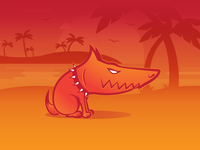 Underdog Mascot Logo