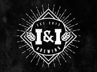 I & I Brewing Beer Label Logo
