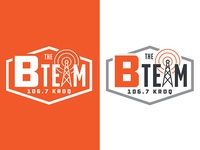 KROQ Podcast Logo - The B Team