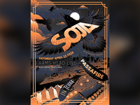 Soja Limited Edition Artist Series Baltimore Poster Art 2019
