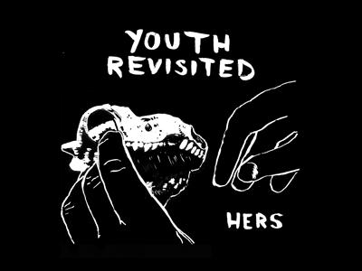 Hands & Skull T-Shirt hers band t-shirt black skull hands