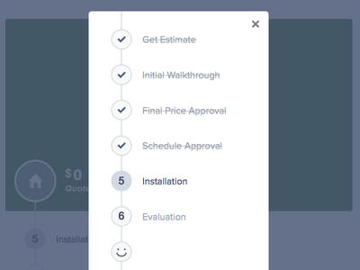 Roadmap Modal ui ux css js smiley face modal mobile responsivw