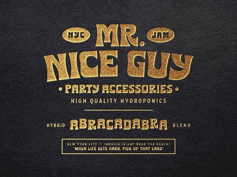 Mr Nice Guy Branding cbdoil cbd packaging cbd logo cbd weed cannabis packaging cannabis branding cannabis logo cannabis
