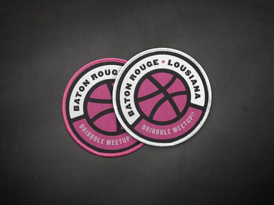 Dribbble Meetup Patches