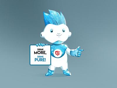 Our New Mascot Design for Everwey  Brand branding illustration mascot character mascot design design