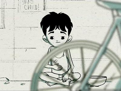 EID MUBARAK short film short story design cell animation miniature mascot character characterdesign animation illustration
