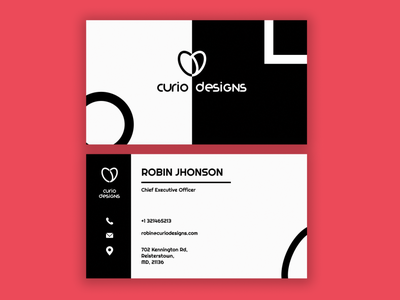 Visiting Card art illustrator vector branding minimal logo illustration graphic design flat design
