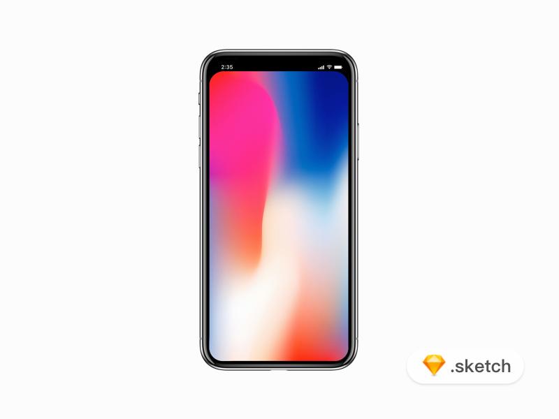 Dribbble iphone x