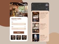 Cafe Finding App