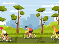 Cycling competitions in nature