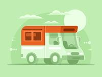 Motorhome camper van