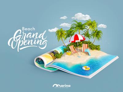 Marina beach grand opening