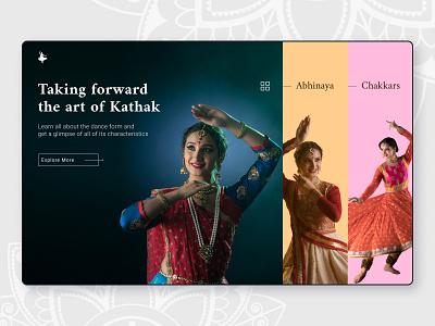 Kathak - Indian Classical Dance design