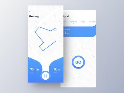 Runing UI app 设计 ui 插图