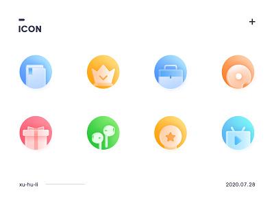 Micro - realistic icons 插图 设计 app icon