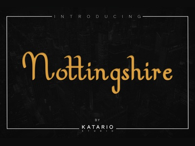 Nottingshire Font
