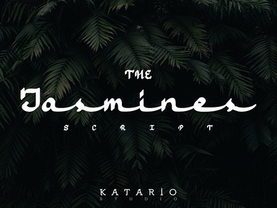 (Coming Soon) Jasmines Script Font