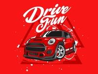Drive fun minicooper