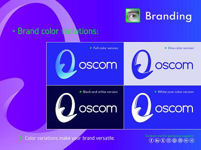 Branding illustrator web app graphic design vector branding logo