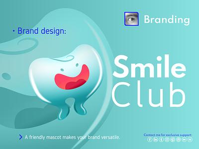 Brand design flat minimal mascot illustration ui logo design vector illustrator branding