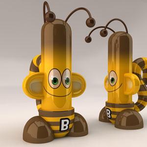 Monkey Tubes Bee