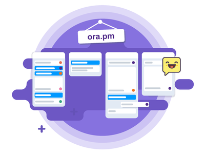 Ora.pm – May Update Illustration ux ui art flat ora update illustration