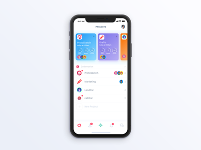 Ora.pm - iPhone (coming soon) todo productivity management task design ux ui mobile iphone iphonex ios