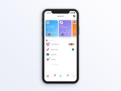 Ora.pm - iPhone (coming soon) todo productivity management task design ux ui mobile iphone iphonex ios