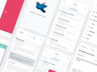 Pigeon Mail App