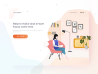 """Decoration"" Landing Page"