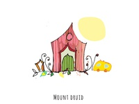 Mount Druid_wedding Invite