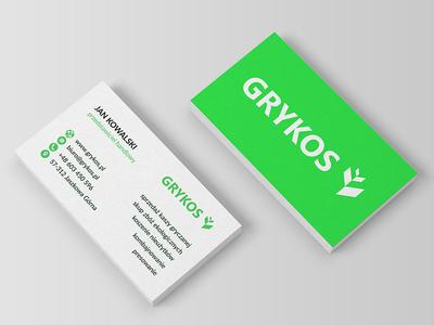 GRYKOS Brand Identity