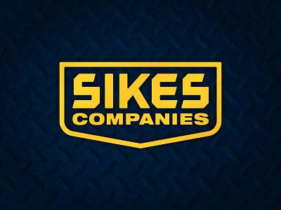 Sikes Co. icon badgedesign badge branding design branding identity branding contractor rugged construction construction logo logo