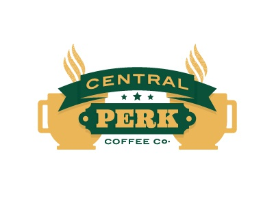How You Doin'? coffee logo friends central perk