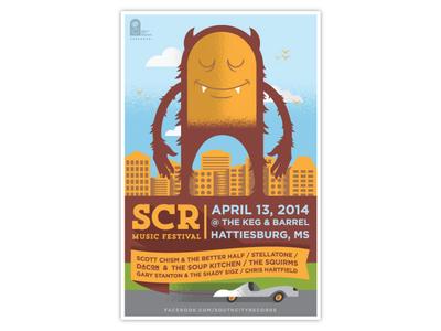 SCR Festival Poster